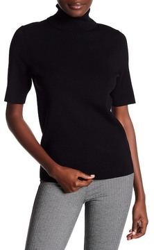 Anne Klein Elbow Length Sleeve Turtleneck Sweater