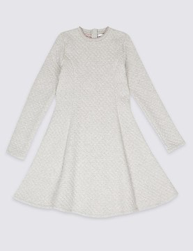 Marks and Spencer Quilted Dress (3-14 Years)