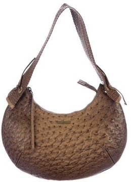 Gucci Ostrich Ombré Hobo - BROWN - STYLE
