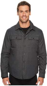 Kenneth Cole Sportswear Two-Pocket Pieced Shirt Jacket Men's Jacket