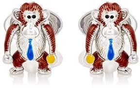 Jan Leslie Men's Moving-Monkey Cufflinks