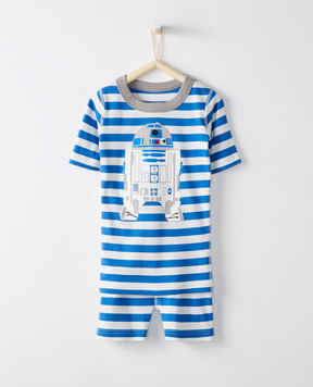 Hanna Andersson Star WarsTM Short John Pajamas In Organic Cotton