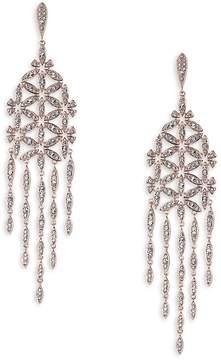 Adriana Orsini Women's Pavé Floral Chandlier Drop Earrings