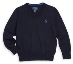 Ralph Lauren Toddler's, Little Boy's& Boy's V-Neck Sweater