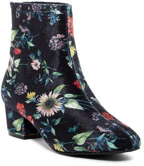 Betsey Johnson Talia Floral Ankle Boot