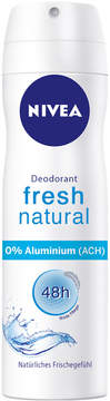 Nivea Fresh Natural Deodorant Spray Regular by 150ml Spray)