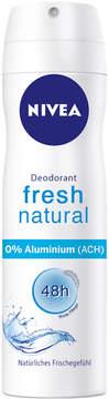 Nivea Fresh Natural Deodorant Spray Regular by 150ml Spray)