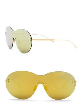 Cat Eye SUNDAY SOMEWHERE Iris 135mm Shield Sunglasses