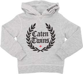 DSQUARED2 Caten Twins Hooded Cotton Sweatshirt