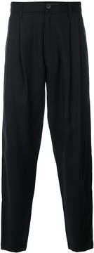 MHI fitted tailored trousers