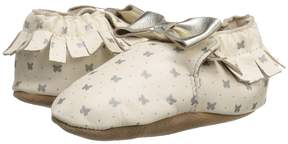 Robeez Premium Leather Maggie Moccasin Soft Sole Girls Shoes
