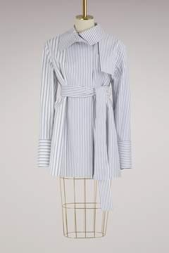 Jil Sander Editor striped caban