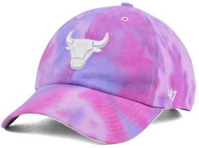 '47 Chicago Bulls Pink Tie-Dye Clean Up Cap