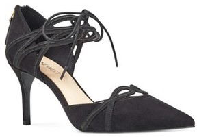 Nine West Women's Mayeff Ankle Tie Pump