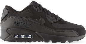 Nike 1 mesh and leather trainers