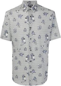 Just Cavalli printed shortsleeved shirt