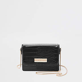 River Island Black mini boxy mini boxy cross body bag