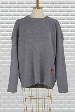 Ami Wool round neck sweater