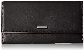 Lodis Women's Mill Valley Under Lock & Key Cami Clutch Wallet Blk
