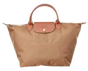 Longchamp Le Pliage Medium Nylon Top Handle. - BEIGE - STYLE