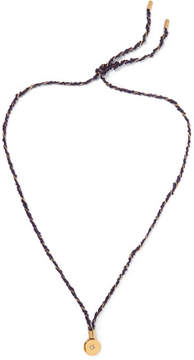 Elizabeth and James Tally Gold-plated Topaz Necklace