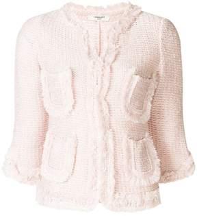Charlott fitted knit jacket