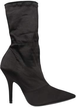 Yeezy Satin Ankle Boots