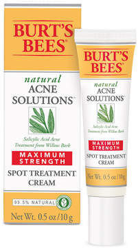 Burt's Bees Natural Acne Solutions Maximum Strength Spot Treatment Cream, 0.5 oz