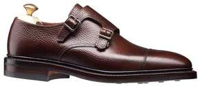 Crockett Jones Crockett & Jones Crockett and Jones Harrogate Double Monkstrap Shoe in Dark Brown