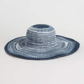 World Market Blue Ombre Sun Hat