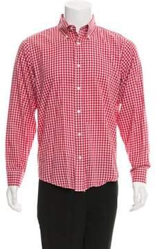 Jack Spade Gingham Button-Up Shirt