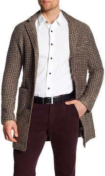 Mason Open Patch Houndstooth Coat