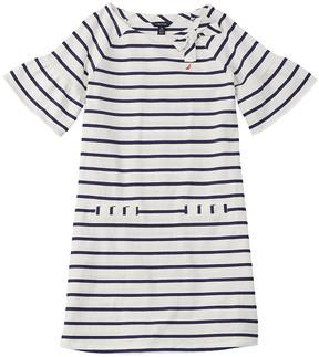 Nautica Girls' Striped Shift Dress