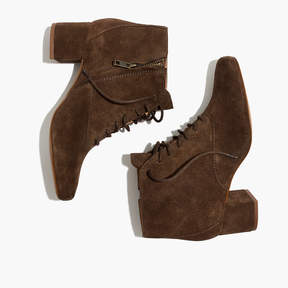 Madewell The Walker Lace-Up Boot