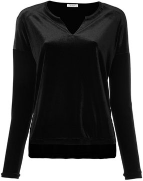 EN ROUTE V-neck long sleeve top