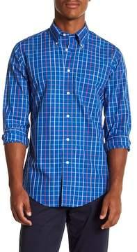 Brooks Brothers Birght Tatter Plaid Long Sleeve Sport Fit Shirt