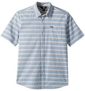 Volcom Branson Short Sleeve Shirt Boy's Short Sleeve Button Up