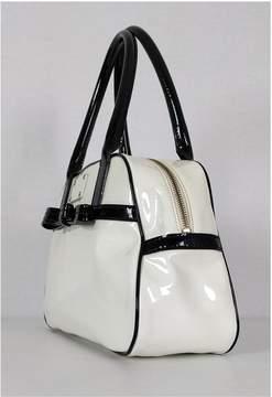 Kate Spade White Patent Leather Handbag