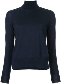 Bottega Veneta dark navy merino sweater