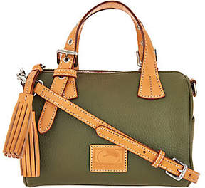 Dooney & Bourke Patterson Pebble Leather Small Kendra Satchel