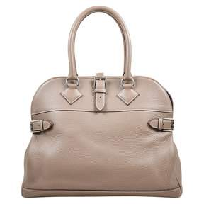 Hermes Bolide leather satchel - BEIGE - STYLE