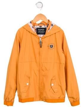 Scotch Shrunk Boys' Lightweight Zip-Up Jacket
