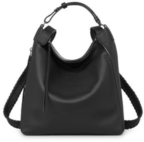 AllSaints Small Kita Convertible Leather Backpack - Black