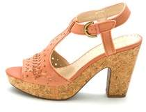 Adrienne Vittadini Womens Yanni Open Toe Casual Ankle Strap Sandals.