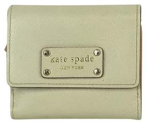 Kate Spade Cream Leather Wallet - CREAM - STYLE