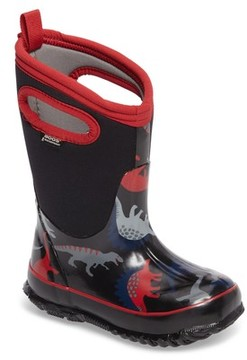 Bogs Toddler Boy's Classic Dino Insulated Waterproof Boot