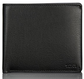 Tumi Men's Global Leather Passcase Wallet - Black