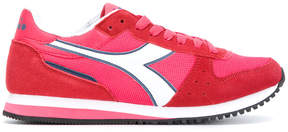 Diadora panelled sneakers