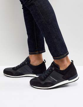 Tommy Hilfiger Maxwell Suede Sneakers in Navy