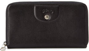 Longchamp Le Pliage Cuir Leather Zip Around Wallet - ONE COLOR - STYLE